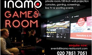 inamo Soho Games Room
