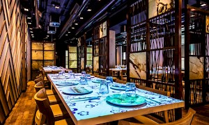 semi-private dining at inamo Covent Garden