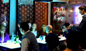 inamo Soho dining room