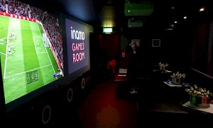 inamo Soho Games Room - bar setup
