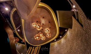 Tom Dixon lighting at inamo Covent Garden