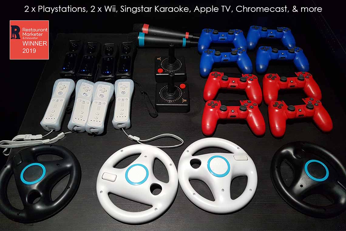 Games Room controllers