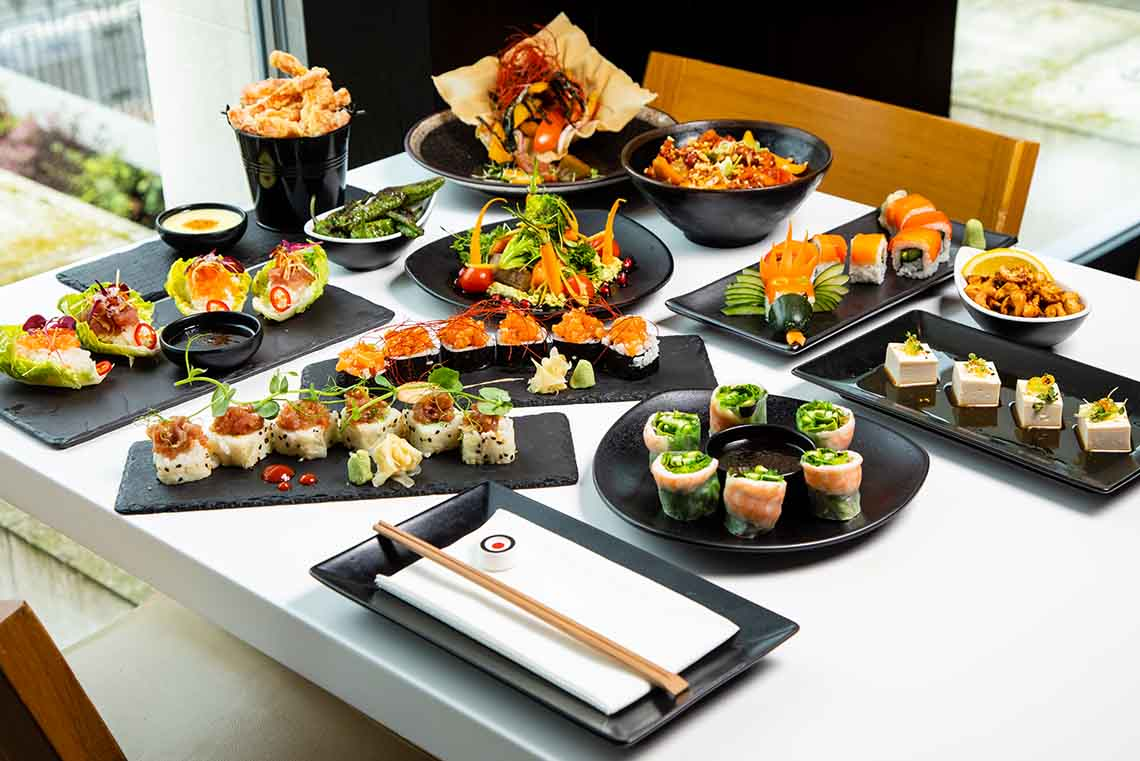 £12 Unlimited Sushi & Tapas Weekday Lunch