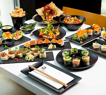 £14 Unlimited Sushi & Tapas Weekday Lunch